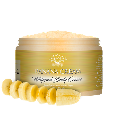 Sahara Banana Body Scrub 12oz.