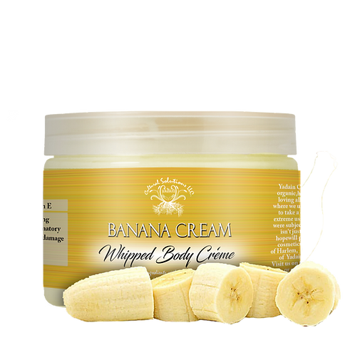 Banana Cream Whipped Body Créme (12oz)
