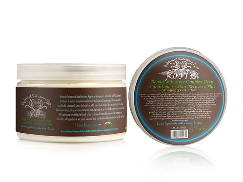 Roots Deep Conditioner, Repair & Recovery Plus 8oz.