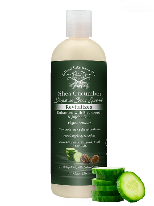 Signature Revitalizing Body Spread: Shea Cucumber (8oz)