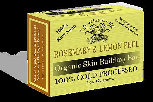 Rosemary & Lemon Peel Raw Signature Soap