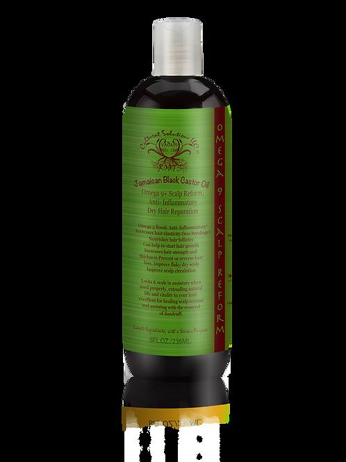 Jamaican Black Castor Oil: Omega 9+ Scalp Reform, Anti-Inflammatory... (8oz)