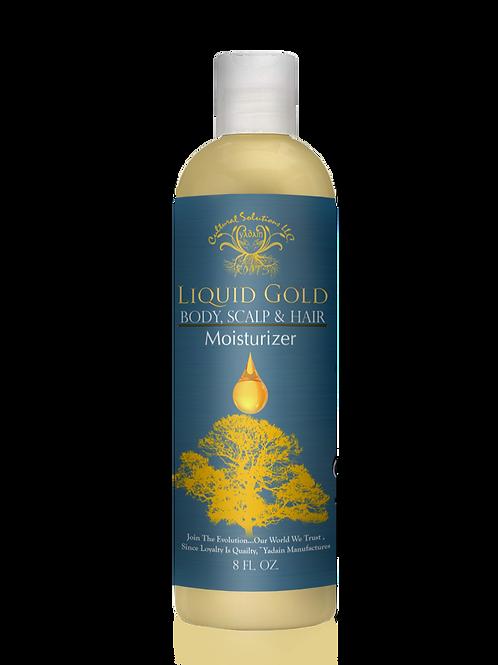 Liquid Gold: Body, Scalp & Hair Moisturizer