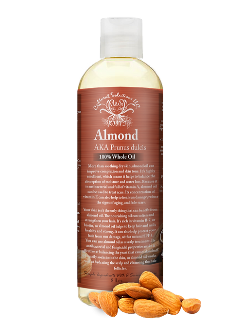Almond Whole oil 8oz.