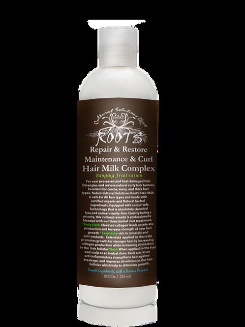 ROOTS Repair & Restore: Maintenance & Curl Hair Milk Complex (8oz)