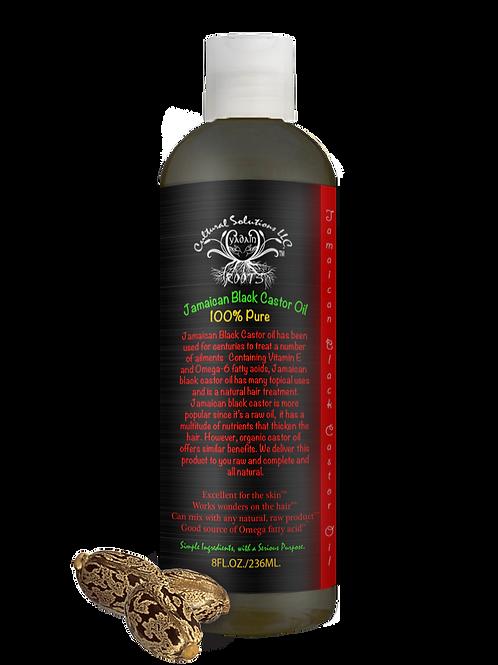 Jamaican Black Castor Oil Raw Organic 8oz.