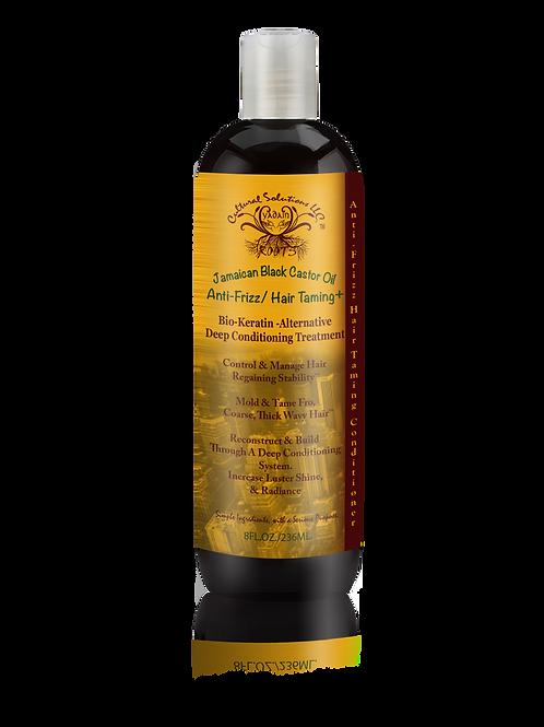 Jamaican Black Castor Oil Bio Keratin Alternative, Anti-Frizz/Hair Taming+ (8oz.