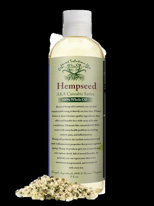 Hempseed 100% Whole Oil (8oz)