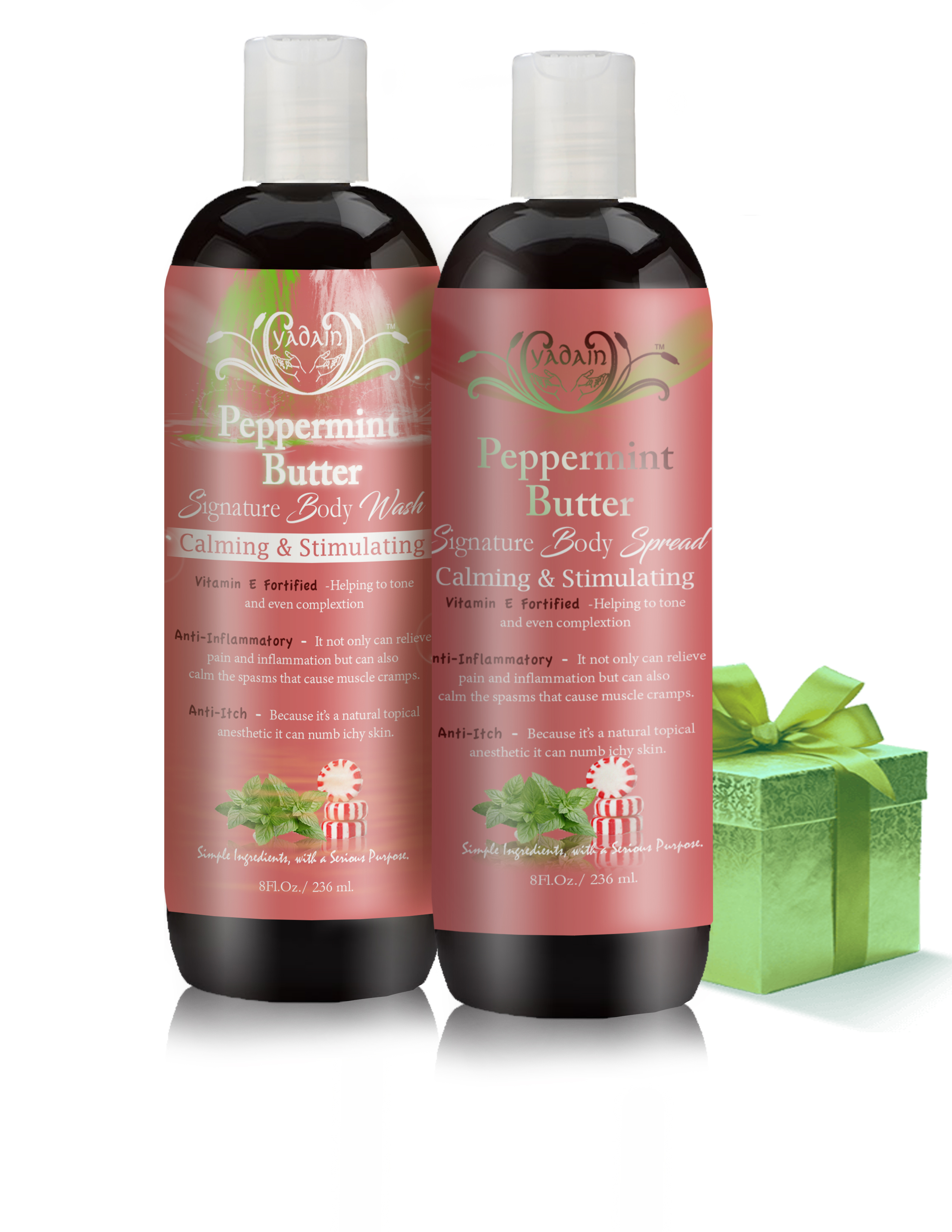 Peppermint Butter lotion and wash1 web pic