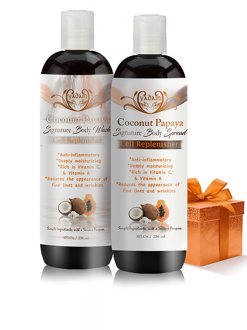 Signature Cell Replenishing Body Collection: Coconut Papaya (8oz)