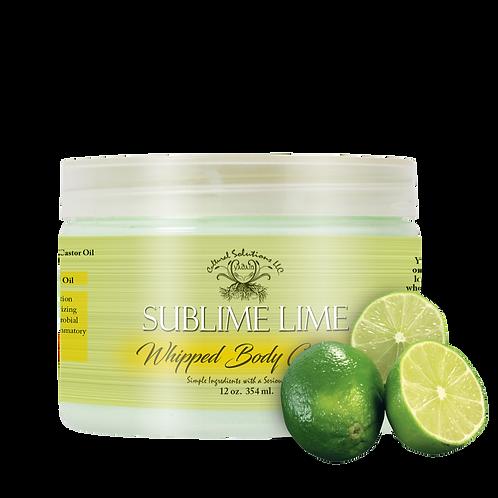 Sublime Lime Whipped Body Créme (12oz)