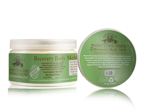 Green Drink Vitality: Recovery Body Melt (12oz)