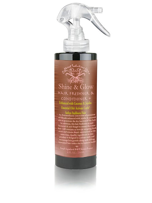 Shine & Glow Hair Freshener & Conditioner + Enhanced With Coconut & Jojoba Oils