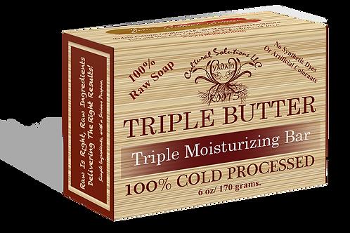 Triple Butter Double Moisturizing Skin Toning Bar