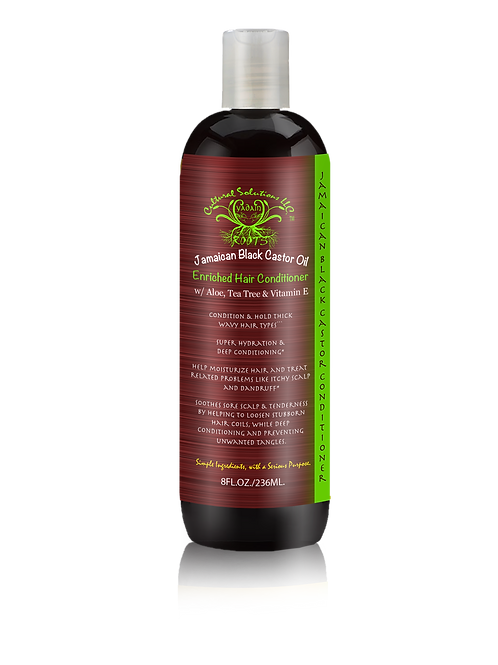 Jamaican Black Castor Oil Deep Conditioning, Hair Enhancer (8oz.)