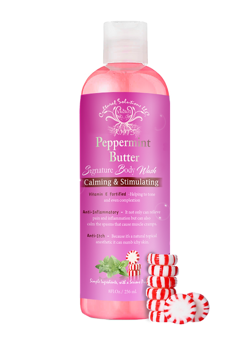 peppermint Butter Body Wash 8oz.