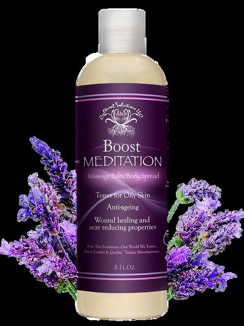 BOOST Massage Balm/Body Spread: Meditation (8oz)