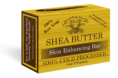 Raw Shea Butter Soap Organic / Cold Process