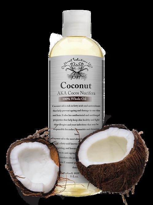 Coconut 100% Whole Oil (8oz)