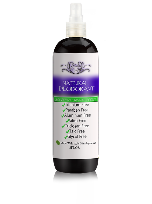 Natural Deodorant Spray: So Clean Original Scent (8oz)