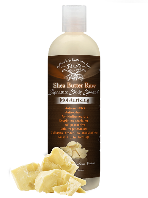 Signature Moisturizing Body Spread: Shea Butter Raw (8oz)