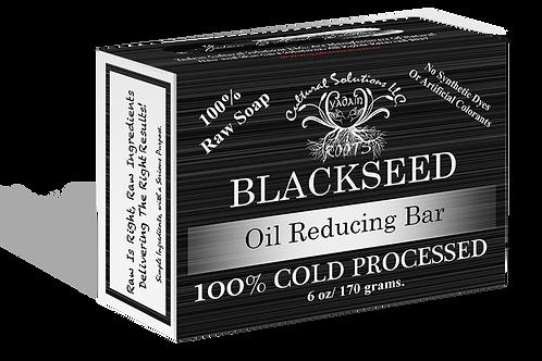 Signature 100% Cold Processed, Raw Bar Soap: BLACKSEED (6oz)