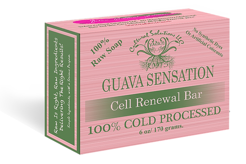 Guava Sensation Raw Soap