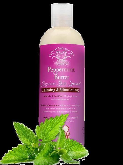 Signature Calming & Stimulating Body Spread: Peppermint Butter (8oz)