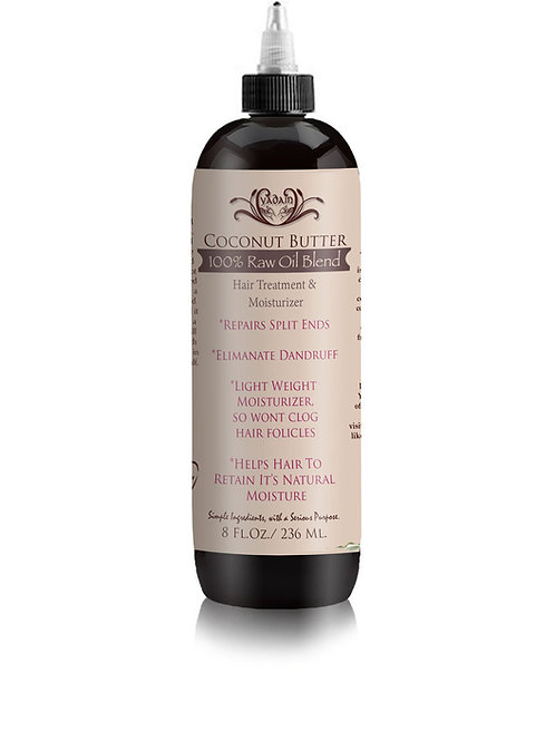 Coconut Butter Hair Treatment (8oz)