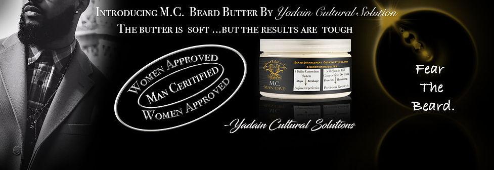 Fear the beard.. Man Cave Beard Butter Is A Premium Butter