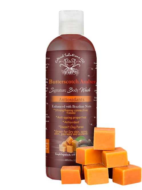 Butter Scotch Amber Body Wash 8oz.