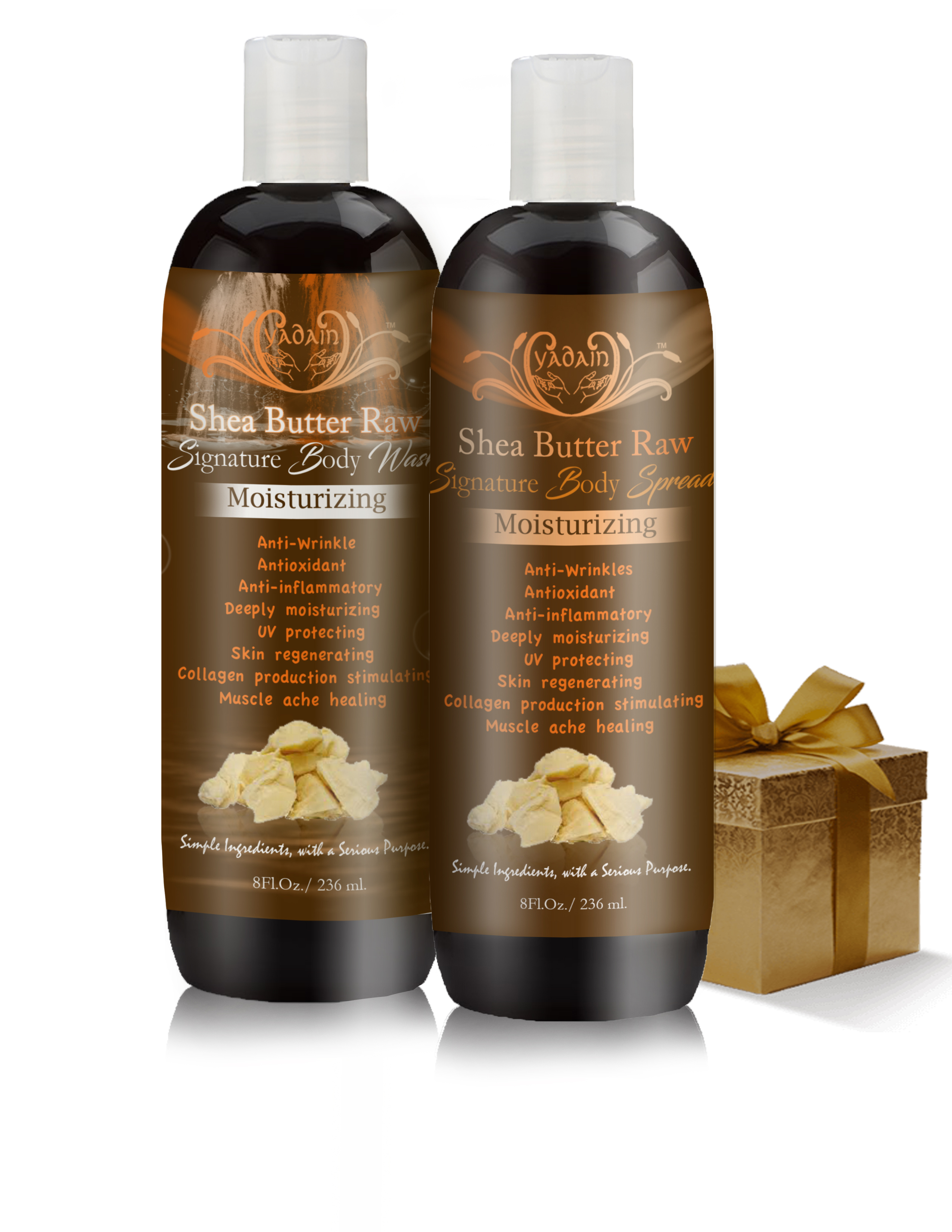 Shea Butter Raw lotion and wash web pic