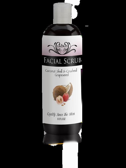 Coconut Shell and Grape Seed Facial Scrub
