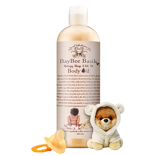 Bay Bee Basiks Moisturizing, Massage & Bath Oil