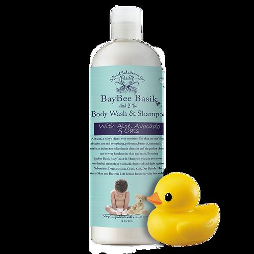 BayBee Basiks Head 2 Toe Body Wash & Shampoo