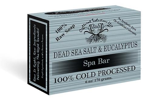 Dead Sea Salt & Eucalyptus Deep Penetrating Spa Bar