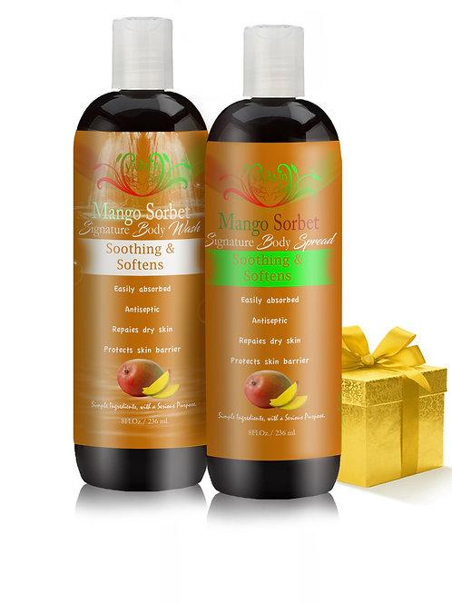 Mango Sorbet Signature Wash & Body Spread Combo