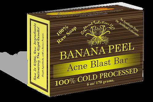 Banana Peel Acne Blast Raw Soap