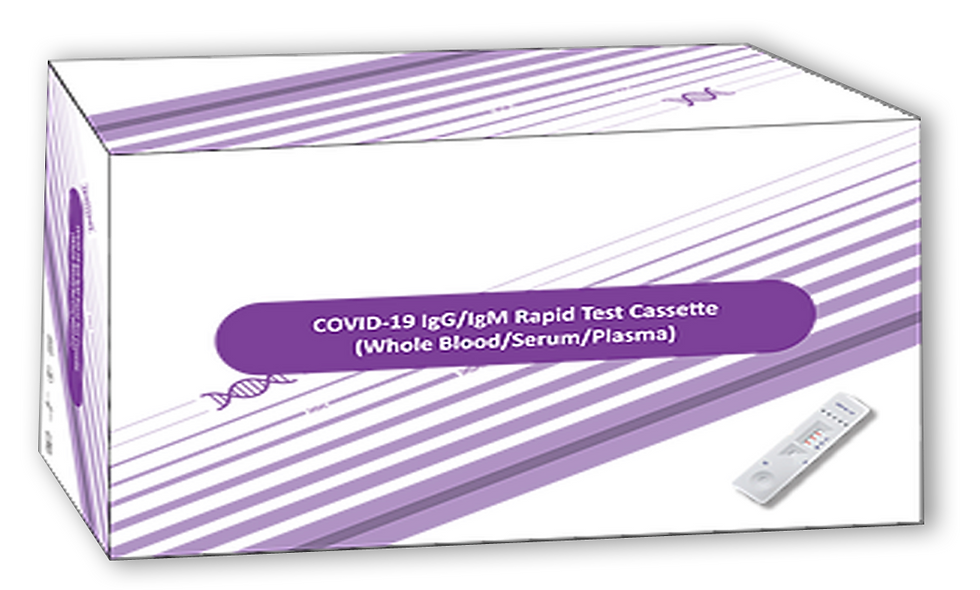 COVID-19 RAPID TEST CASASETTE (25pk) - Self-Serve 6 MONTH SUPPLY