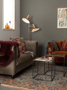 Dutchbone Saffra side tables styling in a living room setting