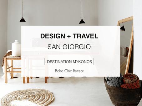 DESIGN + TRAVEL: San Giorgio, Mykonos