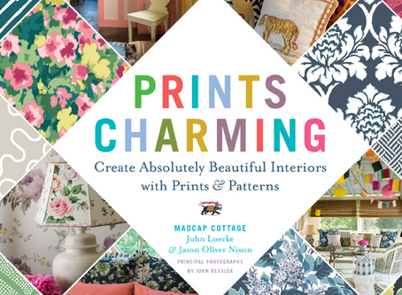 Trend alert: Prints Charming, the book