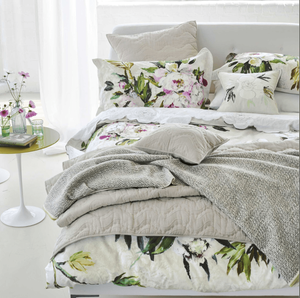 Bedroom: new linen collections for SS17 designers Guild Floreale