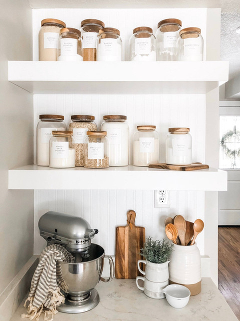 How to make your pantry look irresistibly cool