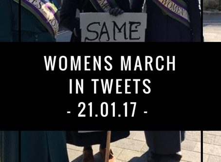 Womens March in tweets   London