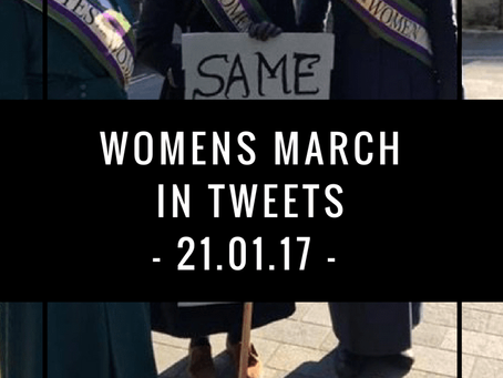 Womens March in tweets | London