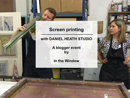 Printing with Daniel Heath Studio