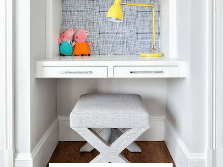 Creative Homework spaces for kids