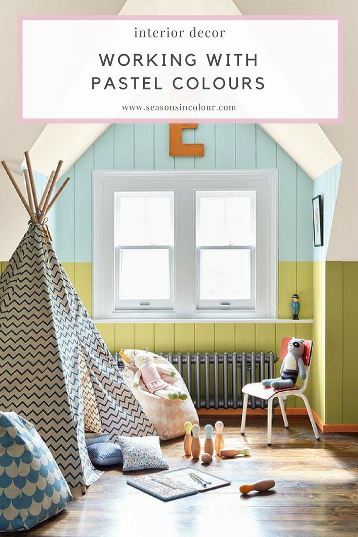 Working pastel colours into your home decor
