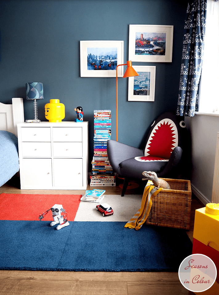 Dulux Steel Symphony 1 kids room